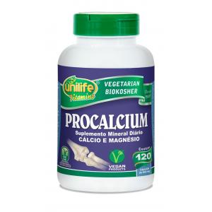 Procalcium base de Cálcio e Magnésio - 120 Caps