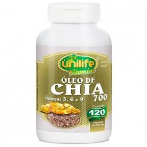 Óleo de Chia - 120 Caps