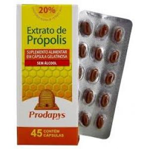 Própolis Marrom Sem Álcool com 45 cápsulas gelatinosa Prodapys