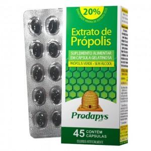 Própolis Verde Sem Álcool com 45 cápsulas gelatinosa Prodapys