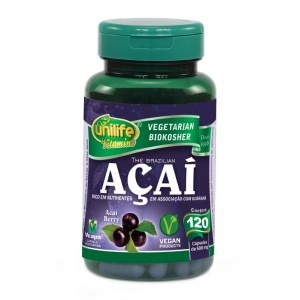 Açaí Berry Unilife - 120 Caps