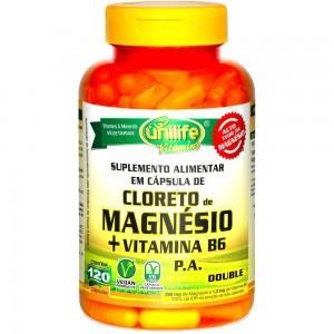 Cloreto de Magnésio P. A. com Vitamina B6  - 120 Caps