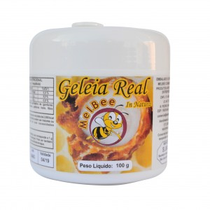 Geleia Real In Natura - Pote 100 g