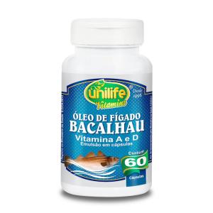 Óleo de Fígado de Bacalhau - 60 Caps